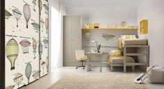 moderne einrichtung kleines kinderzimmers mit etagenbett von tumidei spa