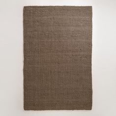 Wondering if this would look better then the butter one I got?  Charcoal Basket Weave Jute Rug