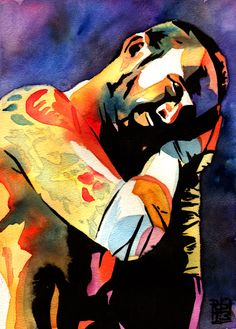 CM Punk by Rob Schamberger #GTS