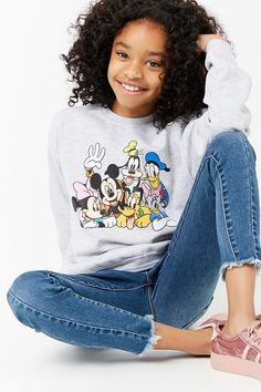 Product Name:Girls Disney Characters Graphic Sweatshirt (Kids), Category:girls_tops, Price:17.9