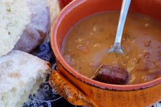 Bosnian Bean Soup (Grah)