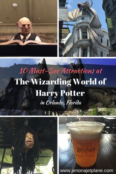 The 10 Best Attractions of the Wizarding World of Harry Potter in Orlando, Florida