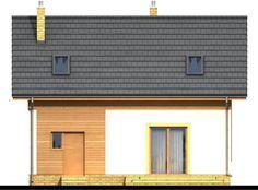 DOM.PL™ - Projekt domu ARN CYNAMON CE - DOM RS1-29 - gotowy koszt budowy Traditional House, Garage Doors, House Styles, Outdoor Decor, Diana, Home Decor, Houses, Decoration Home, Room Decor