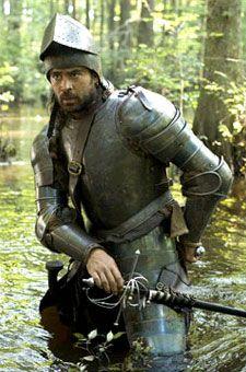 """Collin Farrell as Captain John Smith in """"The New World"""""""