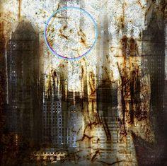 "Saatchi Art Artist steven irwin; Photography, ""New York With Neon Moon"" #art"