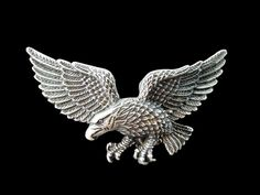 EAGLE AMERICA AMERICAN BIKER ANIMAL BIRD BELT BUCKLE BOUCLE DE CEINTURE #eagle #eagles #eaglebuckle #eaglebeltbuckle #flyingeagle #baldeagle #americaneagle #beltbuckles #coolbuckles #buckle
