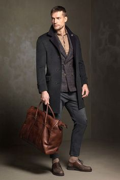 Brunello Cucinelli Fall 2017 Menswear Collection & More Details