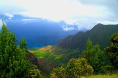 #Beautiful #Kalalau #Valley. It is approximately ten miles long and up to 3,000 feet deep, located on the western side of #Kauai, #Hawaii. Prints starting at $32. Brian Harig's Super SALE! 30 dollars off any order over 80 dollars. But hurry, the sale ends soon and limited to only the first 25 buyers. Use the promo code MKTEFT at the image link. #photography #nature #travel #fineart #art #photo #picsart #nikon #photos