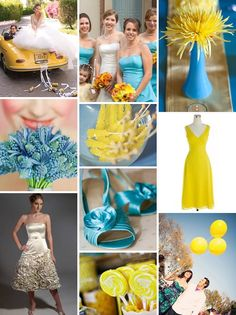 Blue & Yellow Wedding Theme