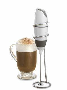 Milk Frothers: Which Whips Up the Best Coffee Topping? Good housekeeping rated this the best frother Best Coffee, My Coffee, Coffee Cups, Kitchen Tools, Kitchen Gadgets, Kitchen Supplies, Kitchen Stuff, Kitchen Rules, Kitchen Utensils