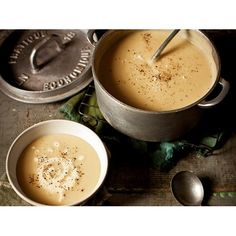 Potato and leek soup recipe - By Real Living, A fabulous creamy, vegetarian- and child-friendly winter meal. Serve with croutons or warm crusty bread.