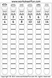 FREE printable worksheets for math (as well as some letter worksheets) grades 1-3