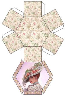 Victorian hat lady box                                                                                                                                                      More