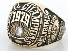The year I received my Masters degree - Bama also won the Championship in Coach Bryant was coaching & still winning! Crimson Tide Football, Alabama Football, Alabama Crimson Tide, Alabama Athletics, Championship Rings, University Of Alabama, Roll Tide, Class Ring, Hockey Rules