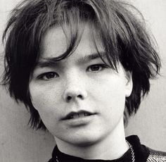 Björk short hair