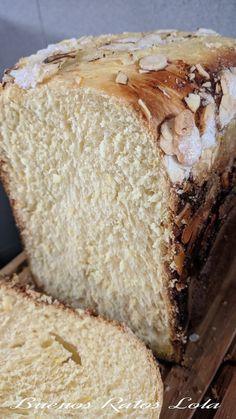 Tenia ganas de subir esta delicia. Un pan con sabor a roscón; amasado, levado y horneado en la panificadora. La receta no es mia, es de Cris... Bread Recipes, Baking Recipes, Pan Bread, Sin Gluten, Gluten Free, Tapas, Bakery, Cooking, Sweet