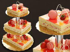 *Hääkakkuinspistä, Konditoria Ph7 - Mansikka-grandmarnier-kakku - meidän häät*