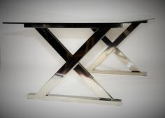 stainless steel dining table ''Matrix'' space-loft.com