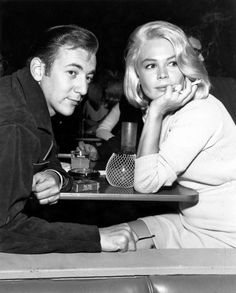 """Bobby Darin & Sandra Dee  - married for a short time - we were shocked as we thought of her as the """"innocent"""" and him as the sexy """"bad boy"""""""