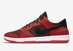 new style ed5c5 4fc99  sneakers  news Nike Is Releasing The Dunk Low In Red Flyknit Nike Dunks,