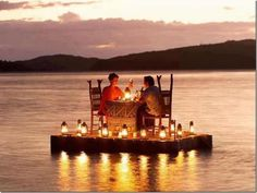 Beautiful settings for a romantic date :)
