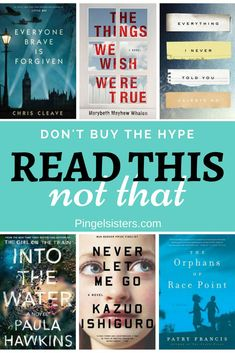 Read This Not That. Tired of reading bestsellers that turn out to be duds? Here are 14 best selling books I read last year - 7 that are worth your time, and 7 that are not. books | book club | book recommendations | bestsellers | fiction | nonfiction