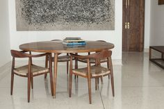 A superb cast in situ terrazzo floor at this Bombay residence!