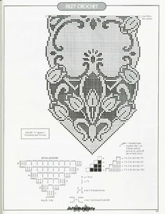 Chart - Filet Crochet