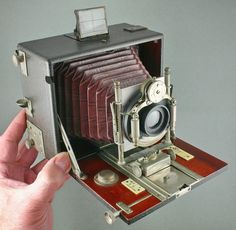 RARE Ernemann Heag VI Plate Camera 9x12cm with Hugo Meyer Lens Two Shutters | eBay