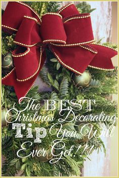 THE BEST CHRISTMAS DECORATING TIP YOU WILL EVER GET! SERIOUSLY!