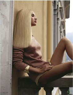 """""""IDEE FORTH"""": JULIE ORDON: GRAZIA NO.40 OCTOBER 2011: FREDERIC PINET"""