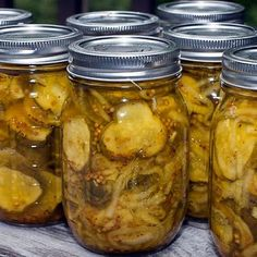Freezer Bread and Butter Pickles @keyingredient #delicious #bread