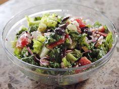 Easy Greek Salad ~ Pioneer Woman, (Ree Drummond)