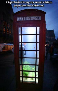 Phone tank… soooooooooooooooo awesome like on the show tanked on animal planet