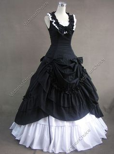 Civil War Southern Belle Lolita Ball Gown Dress