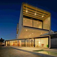 Концептуальный дом в Испании