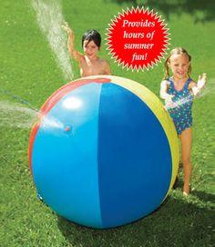 Inflatable Giant Beach Ball Sprinkler