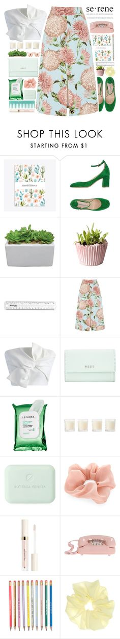 """""""SERENE"""" by kawrose02 on Polyvore featuring Roberto Festa, Warehouse, Chicwish, DKNY, Sephora Collection, Shabby Chic, Bottega Veneta and Accessorize"""