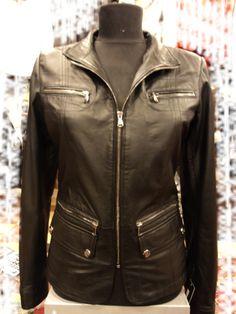 #Ladies Leather Jacket  leather jacket #2dayslook #new leather jacke#jacketfashion  www.2dayslook.com