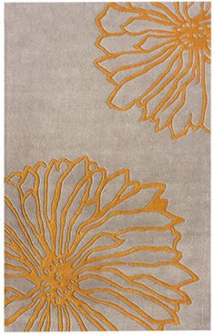 I like the yellow and gray. Great website for rugs!