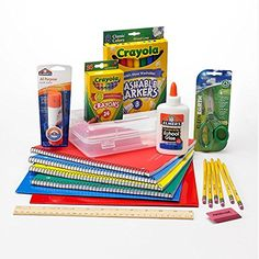 Amazon.com : Elementary School Essentials Back to School Pack - Grades 1-4 : Office Products