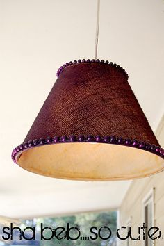 lampshade redo
