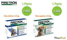 #pipetas #perros #piretrón #mascotas #mascoweb
