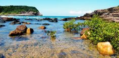 Kirkas ranta Costa Bravalla.