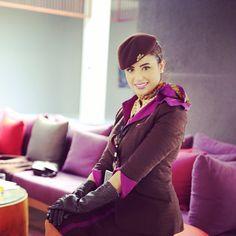 Etihad Airways Stewardess