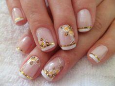 ...... Flower Nails, Hair Beauty, Nail Art, Manicures, Ideas Para, Fashion, Glitter Accent Nails, Nail Jewels, Nail Design