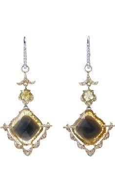 SHARON KHAZZAM  Diamond Collar Pasha Eardrop