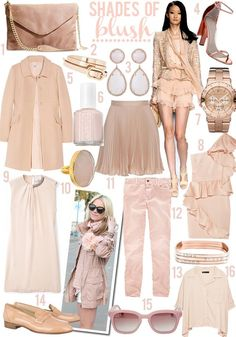 blush and nude color clothes are to die for! Boho Fashion, Fashion Show, Womens Fashion, Michael Kors Rose, Draped Dress, Capsule Wardrobe, Capsule Clothing, Nude Color, Style Me
