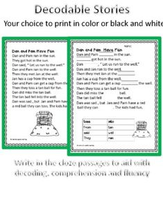 Orton Gillingham Decodable Stories -am -an & Suffix -s with dyslexic font Dyslexia Activities, Teaching Reading, Learning, Wilson Reading, Friends Font, Dysgraphia, Gillingham, Comprehension Questions, Sight Words
