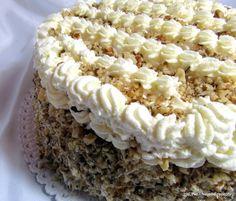Nejedlé recepty: Ořechový dort Krispie Treats, Rice Krispies, Lemon Curd, Vanilla Cake, Cooking Recipes, Amelie, Bakken, Chef Recipes, Amelia